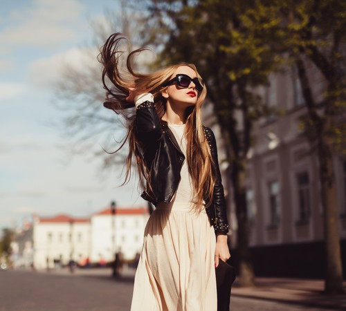 Какие выбрать куртки кожаные женские