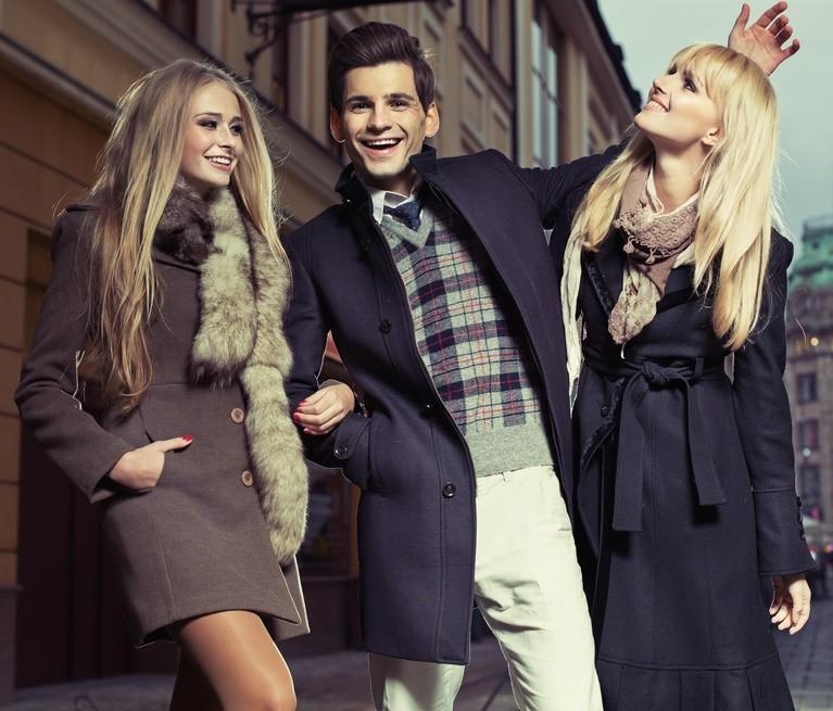 Стильные длинные пальто