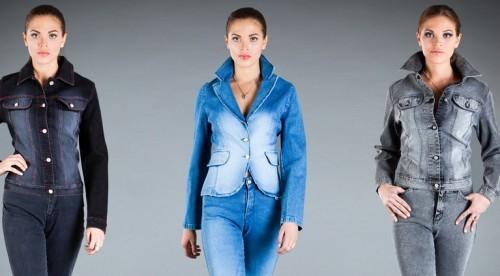 Стильные джинсовые куртки