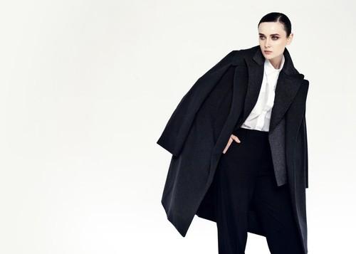 Какое выбрать пальто черное женское