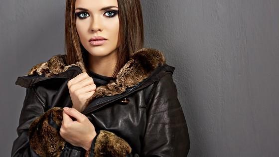 Длинные кожаные куртки для женщин