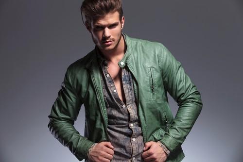Мужские короткие кожаные куртки и стиль