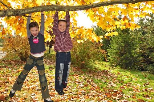 Модная детская одежда на осень