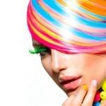 Окрашивание  волос краской Brillance