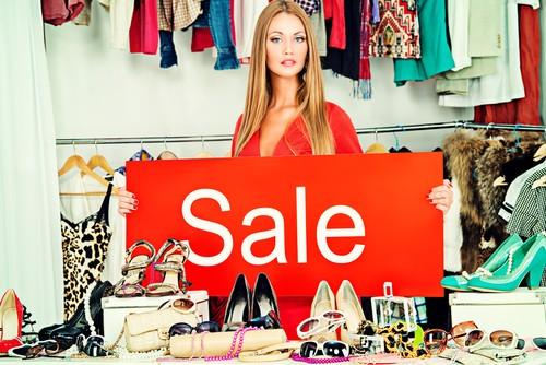 Магазин распродаж брендовой одежды