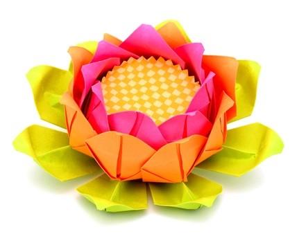 Прекрасный бумажный цветок
