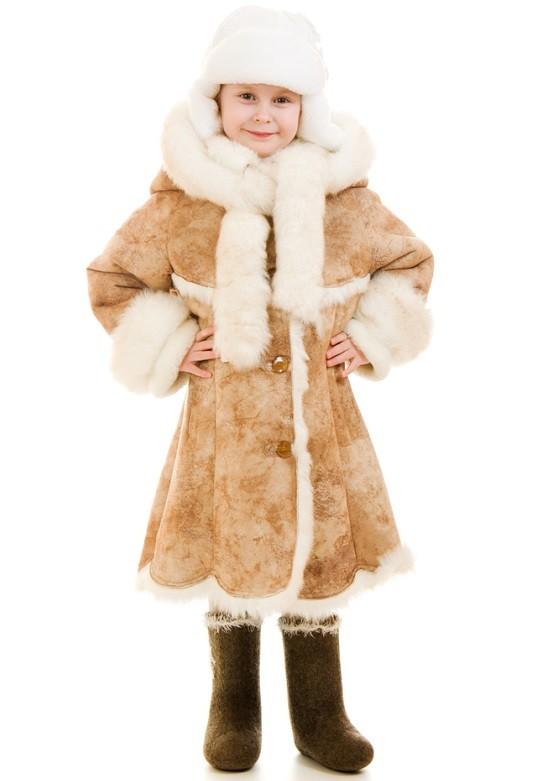 Детские дубленки для модников