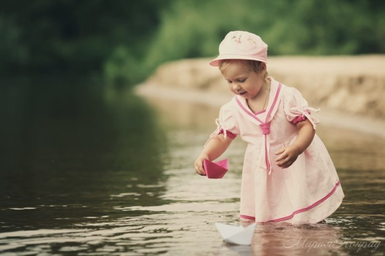 Легкие детские кепки для девочек