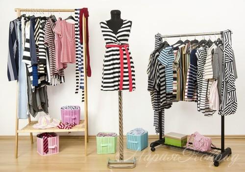 Одежда в полоску и стиль