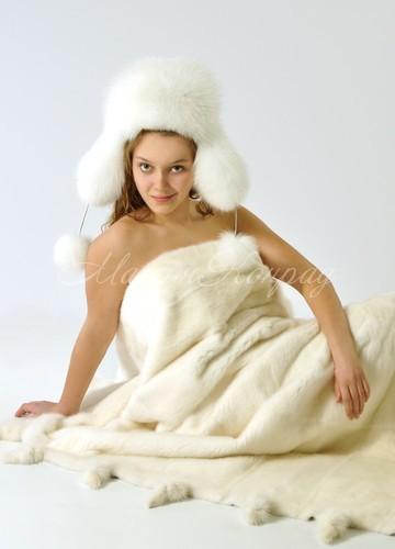 Лучший искусственный мех белый
