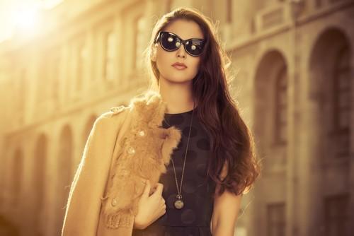 Широкое длинное женское пальто нового сезона