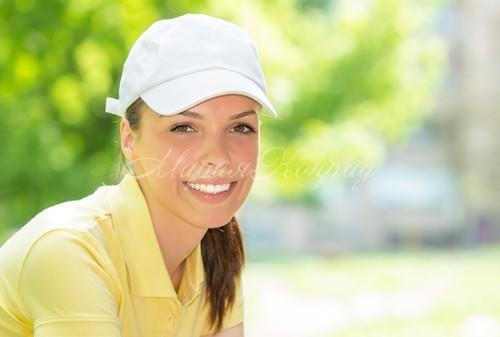 Красивая футболка поло  женская