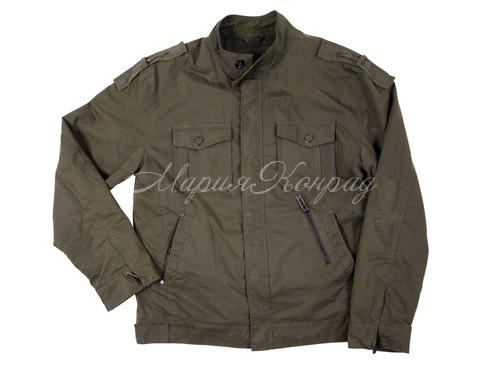 Модные мужские куртки цвета хаки