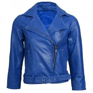 Ищете кожаную куртку синюю?