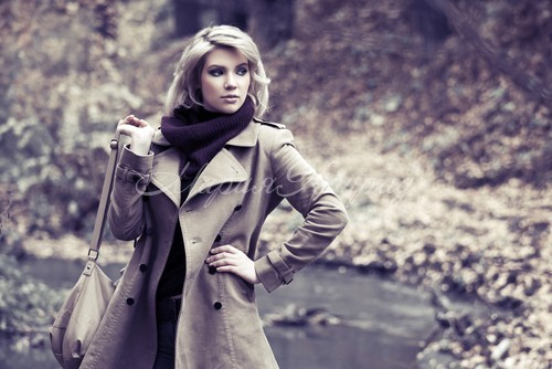 Модная женская одежда пальто