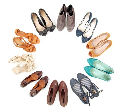 Красивые женские летние туфли