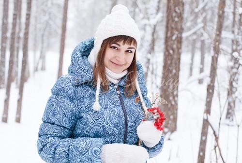 Модная зимняя одежда больших размеров