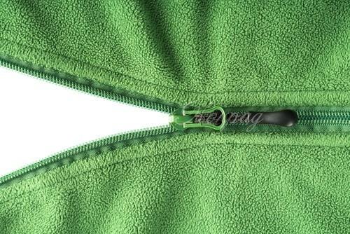 Зеленый флис
