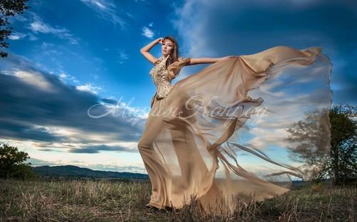 Красивые брендовые платья из шифона