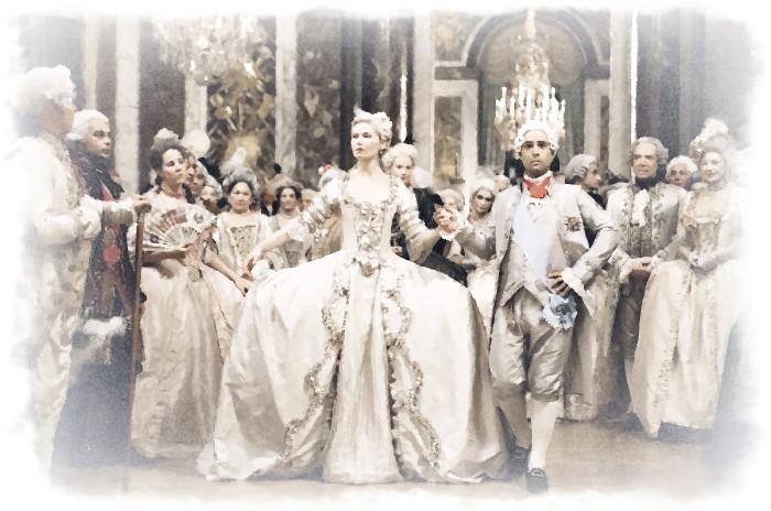 Платья 18 века Франции